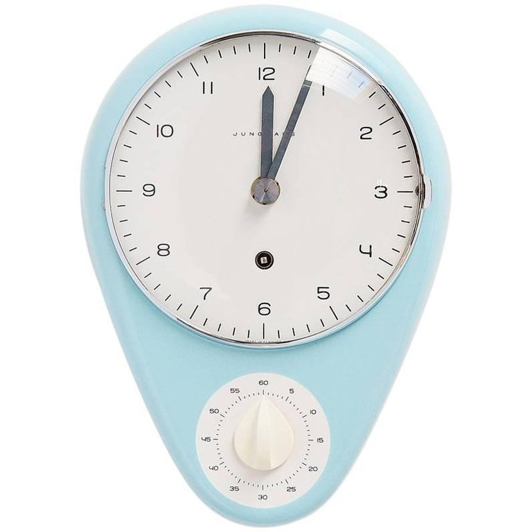 Groovy Max Bill Junghans Kitchen Clock 1953 Download Free Architecture Designs Rallybritishbridgeorg