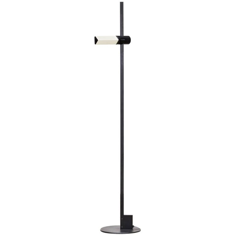 Gianfranco Frattini 'Caltha' Adjustable Floor Lamp for Luci