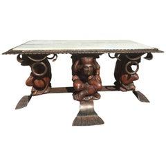 Jean-Maurice Rothschild Coffee Table, circa 1950