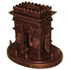 Small 19th Century Model of the Arc de Triomphe