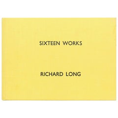 Sixteen Works, Richard Long Book