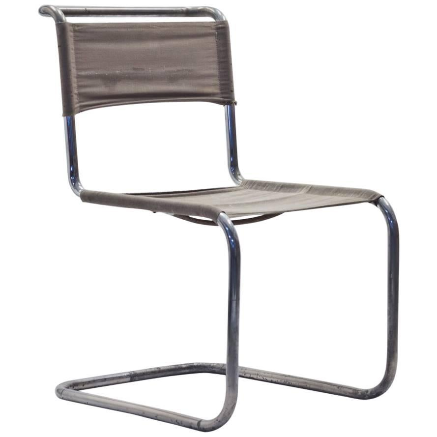 B33 Cantilevered Chair by Marcel Breuer & Mart Stam for Thonet, 1930s