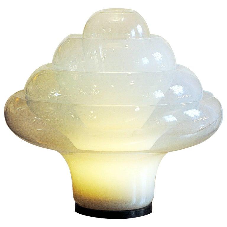 "Table Lamp ""Lotus Lamp"" by Carlo Nason, Italy, 1960s-1970s"