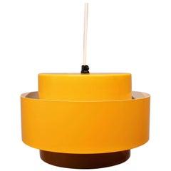 Juno Pendant, Dark Yellow by Jo Hammerborg for Fog and Mørup, 1960s