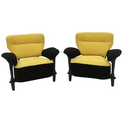 Artifort by Theo Ruth, Two Armchairs, 1950s