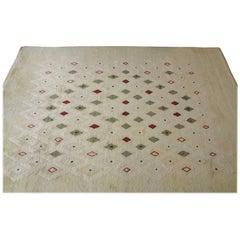 Rectangular Wool Carpet by Paule Leleu, 1950s