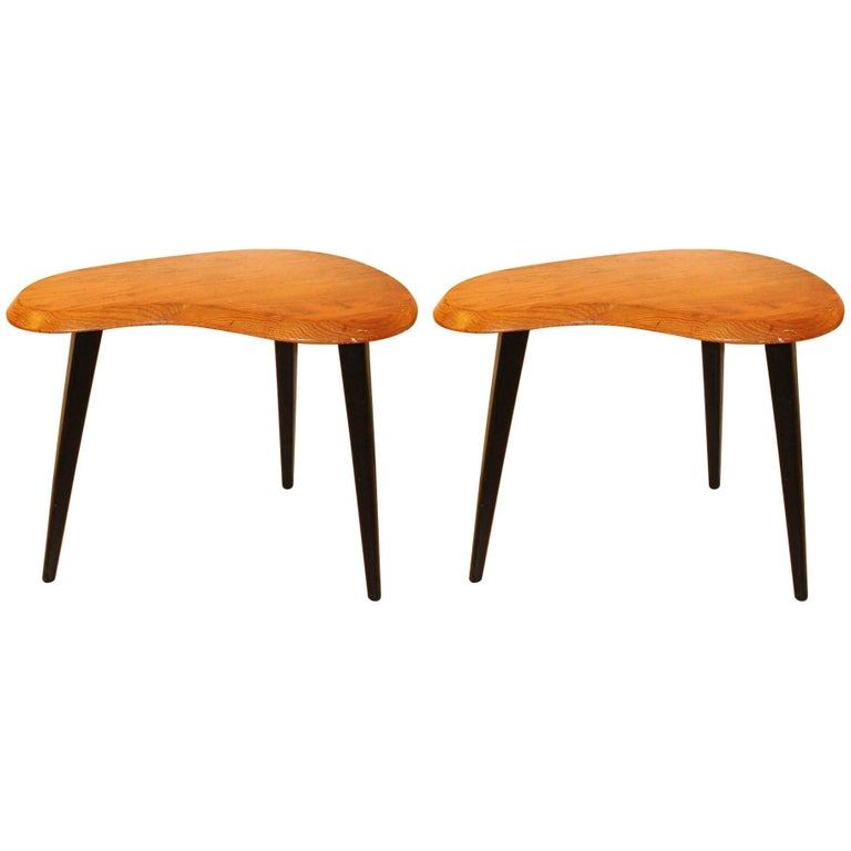 Pair of Midcentury Side Tables