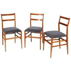 Gio Ponti Leggera Chairs, Italy, 1950s