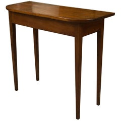 American New England Console Table
