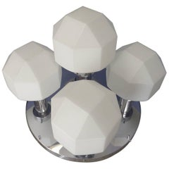 Diamond Shape Wall/Hanging Lamp, circa 1970