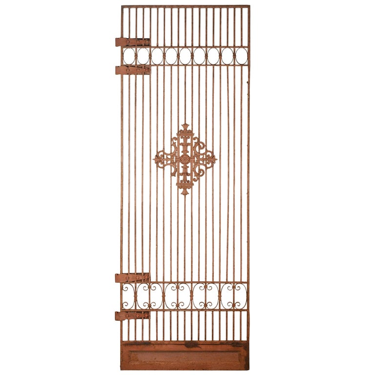Decorative Iron Gate For Sale