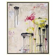 """""""Santa Croce"""" Abstract Painting by Karina Gentinetta"""