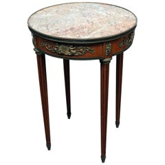 Linke Marble-Top Center Table