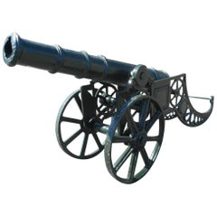 Unique Cast Iron Cannon
