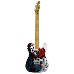 Telecaster Guitar Illustrated by Philippe Druillet