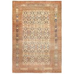 Extremely Fine Antique Persian Haji Jalili Tabriz Rug