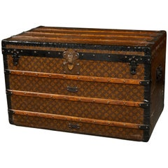 1920s Louis Vuitton Steamer Trunk