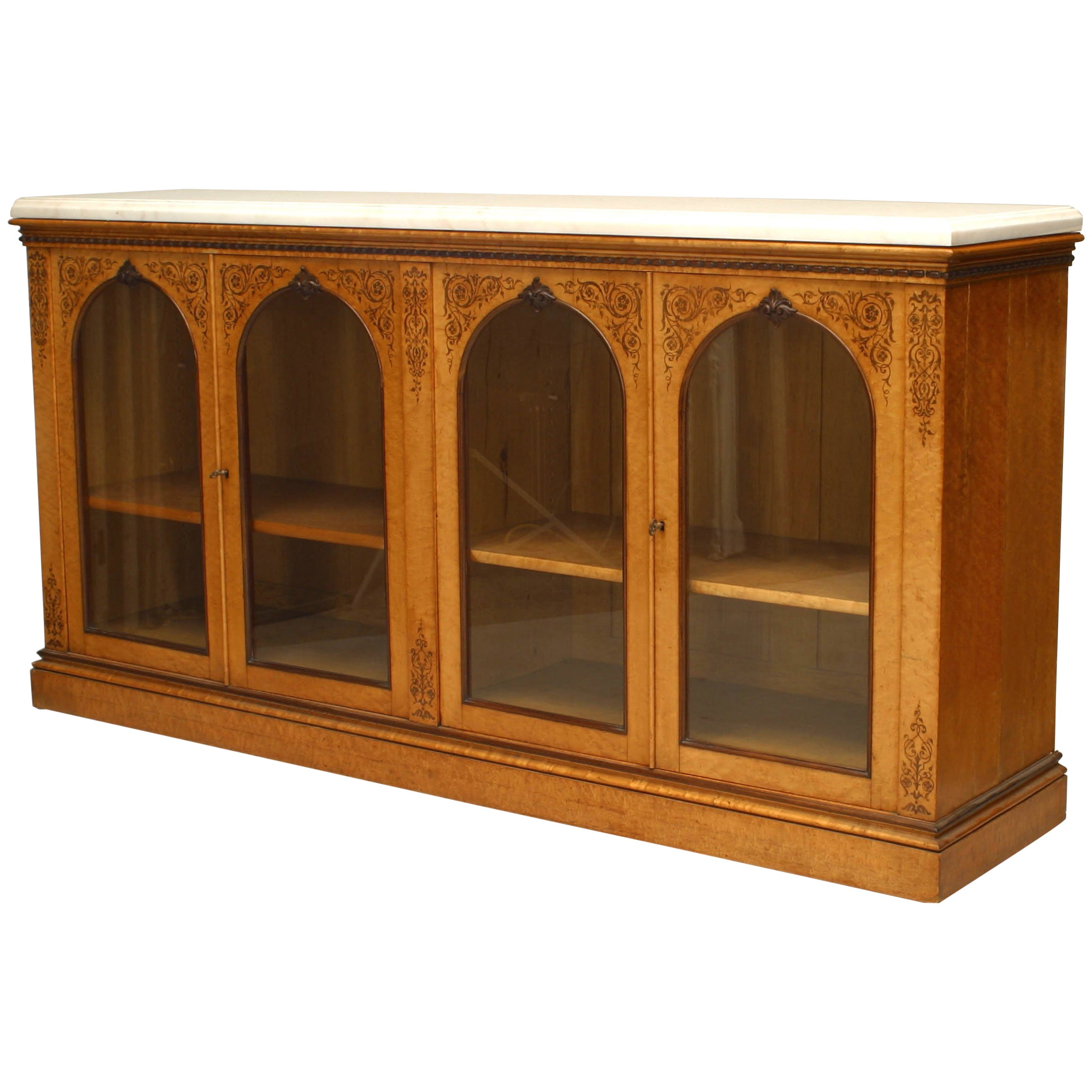 French Charles X Sideboard Cabinet