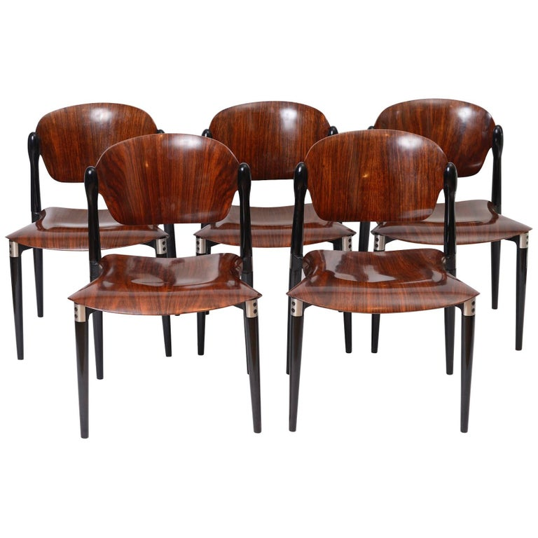 Eugenio Gerli for Tecno S83 Chairs