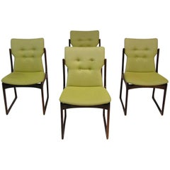 1960s Danish Modern Rosewood Dining Chairs by Art Furn, Set of Four