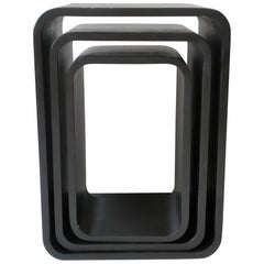 Black Modern Nesting Tables