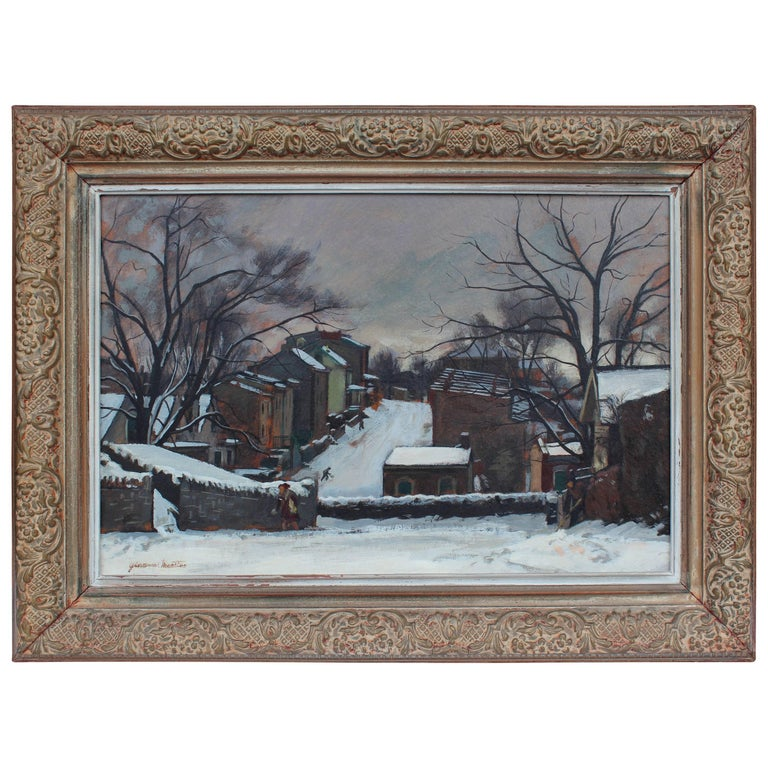 """""""Fleming Street"""" Painting by Giovanni Martino"""