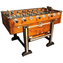 Midcentury French Foosball Table