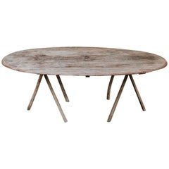 19th Century Ovalshaped Table
