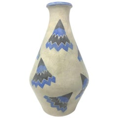 Art Deco French Futurist Vase, 1930s