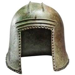 Illyrian Bronze Helmet, Greek Art, 6th Century BC