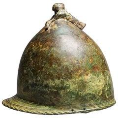 Montefortino Bronze Helmet, Etrusco-Italic Art, 4th-3rd Centuries BC