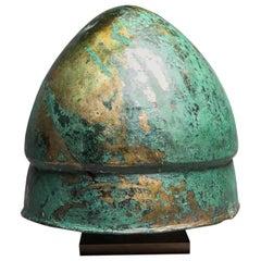 Pilos Bronze Helmet, Greek Art, 6th Century BC