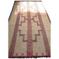 Beautiful Handwoven Tuareg Rug from Northern Africa