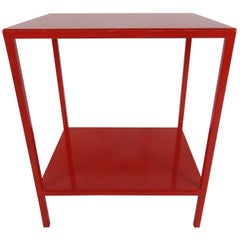 Baldwin Side Table in Red