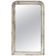 Silver Gilt Louis Philippe Mirror