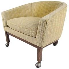 Midcentury Barrel Back Club Chair