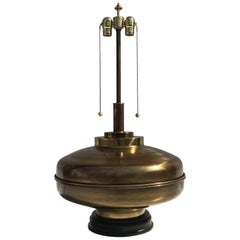 Large-Scale Brass Lamp