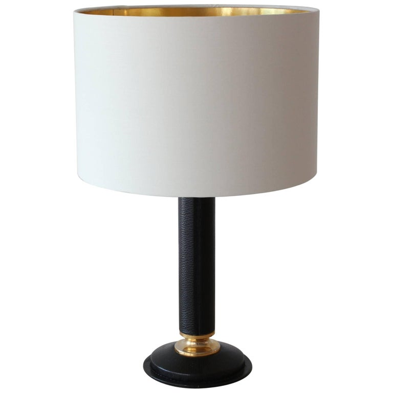 Jacques Adnet Style Table Lamp