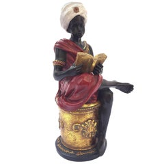 Vintage Midcentury Arabian Moorish Prince Sculpture
