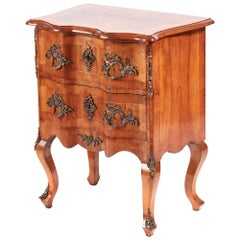 Small Antique Walnut Chest of Drawers