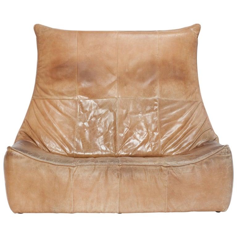 """""""The Rock"""" Gerard Van Den Berg Two-Seat Sofa"""