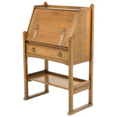 Quality Oak Arts & Crafts Desk