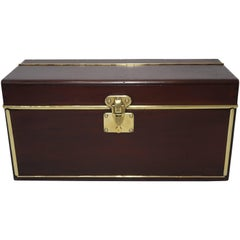 1890s Louis Vuitton Wooden Tool Box Trunk, 1 of the 100 Legendary Trunks