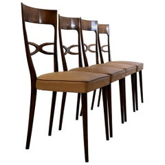 Melchiorre Bega Attributed Dining Chairs