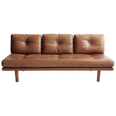 Franz Köttgen for Kill International Leather Daybed