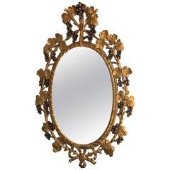 Chelsea House Oval Gilt Mirror