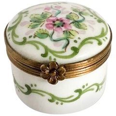 Limoges Round Box by Rochard