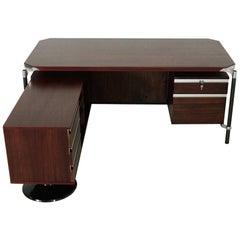 Ico Parisi Executive Corner Desk