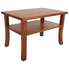 Signed Thomas Moser Lolling Side Table in Cherry