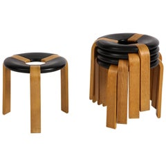 Rud Thygesen and Johnny Sorensen Set of Five Stools